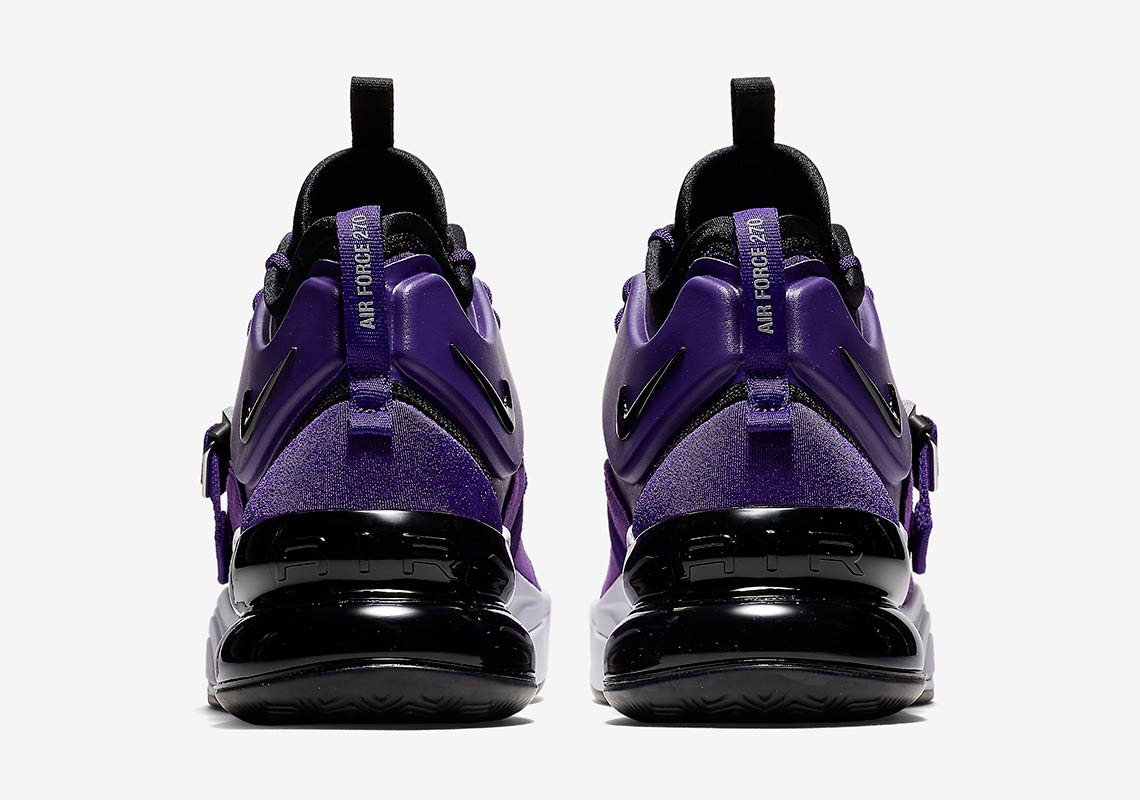 9542af2cf9 Nike Air Force 270 Court Purple Official Images AQ1000-500 ...