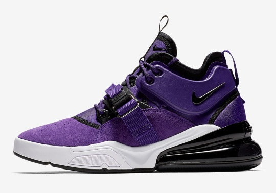 "Nike Air Force 270 QS ""Court Purple"" Arriving In May"