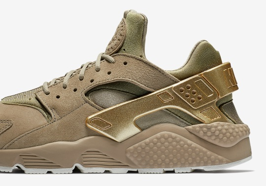 "Nike Air Huarache ""Gold Rush"" Is Available Now"
