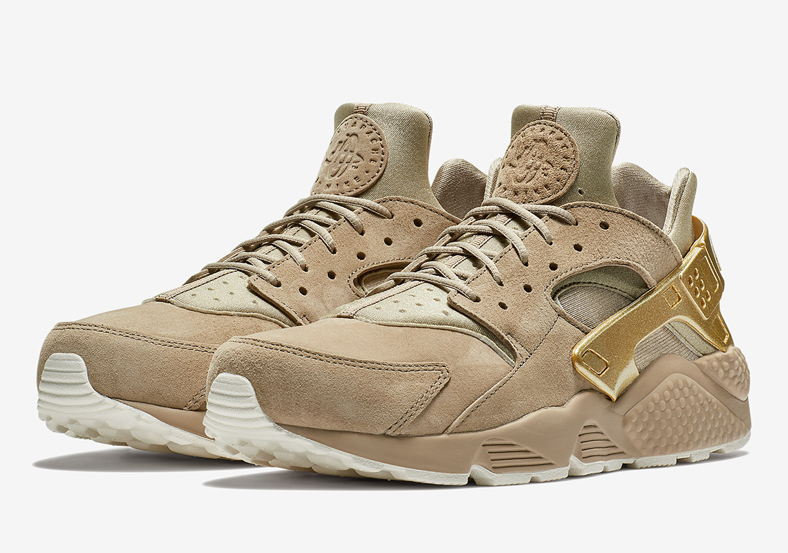 ... where to buy nike air huarache 120. color khaki mtlc gold coin sail  71350 3ca7b 29de55b49