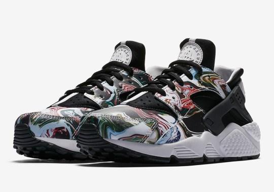 "Nike Air Huarache ""Marble Dye"" Is Coming Soon"