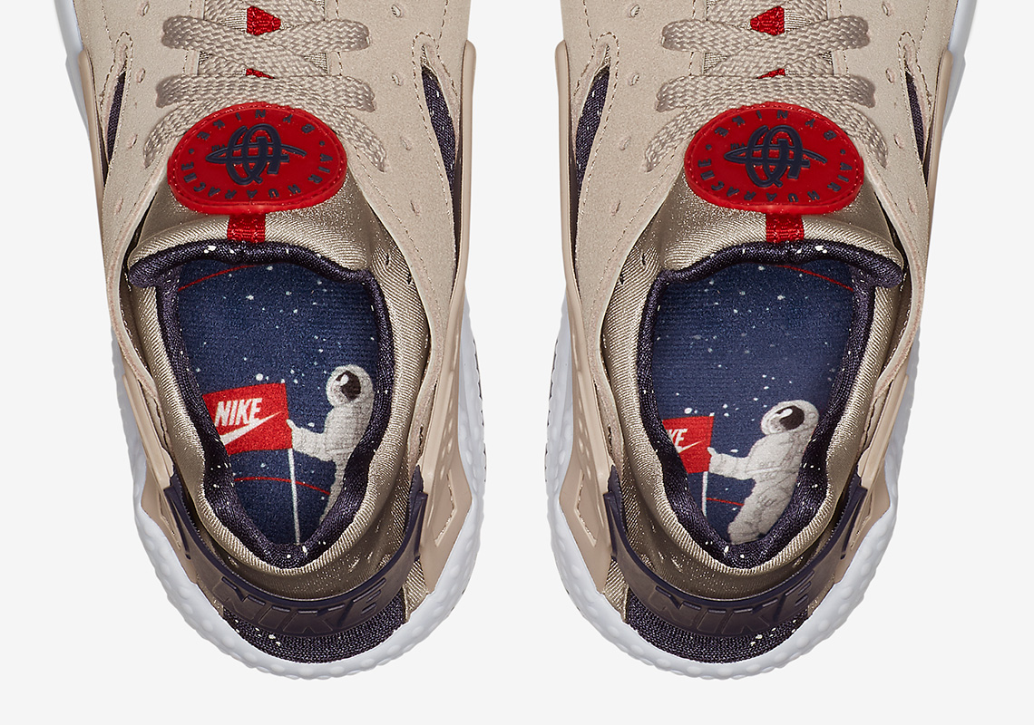 73014e0453d3 The Moon-Landing Graphics Appear On The Nike Air Huarache