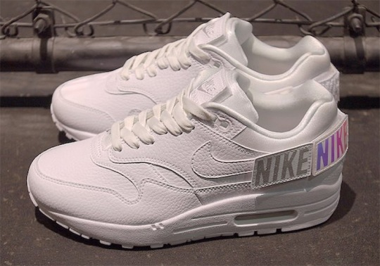 Nike Is Releasing An Air Max 1 With Swoosh Patches