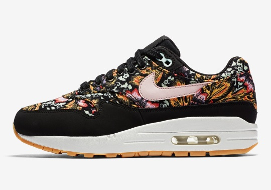 Nike Air Max 1 With Floral Prints Arrives Right In Time For Spring