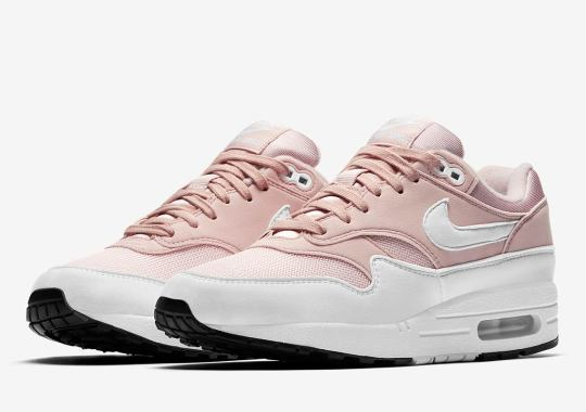 "Nike Air Max 1 ""Barely Rose"" Releasing Exclusively For Women"