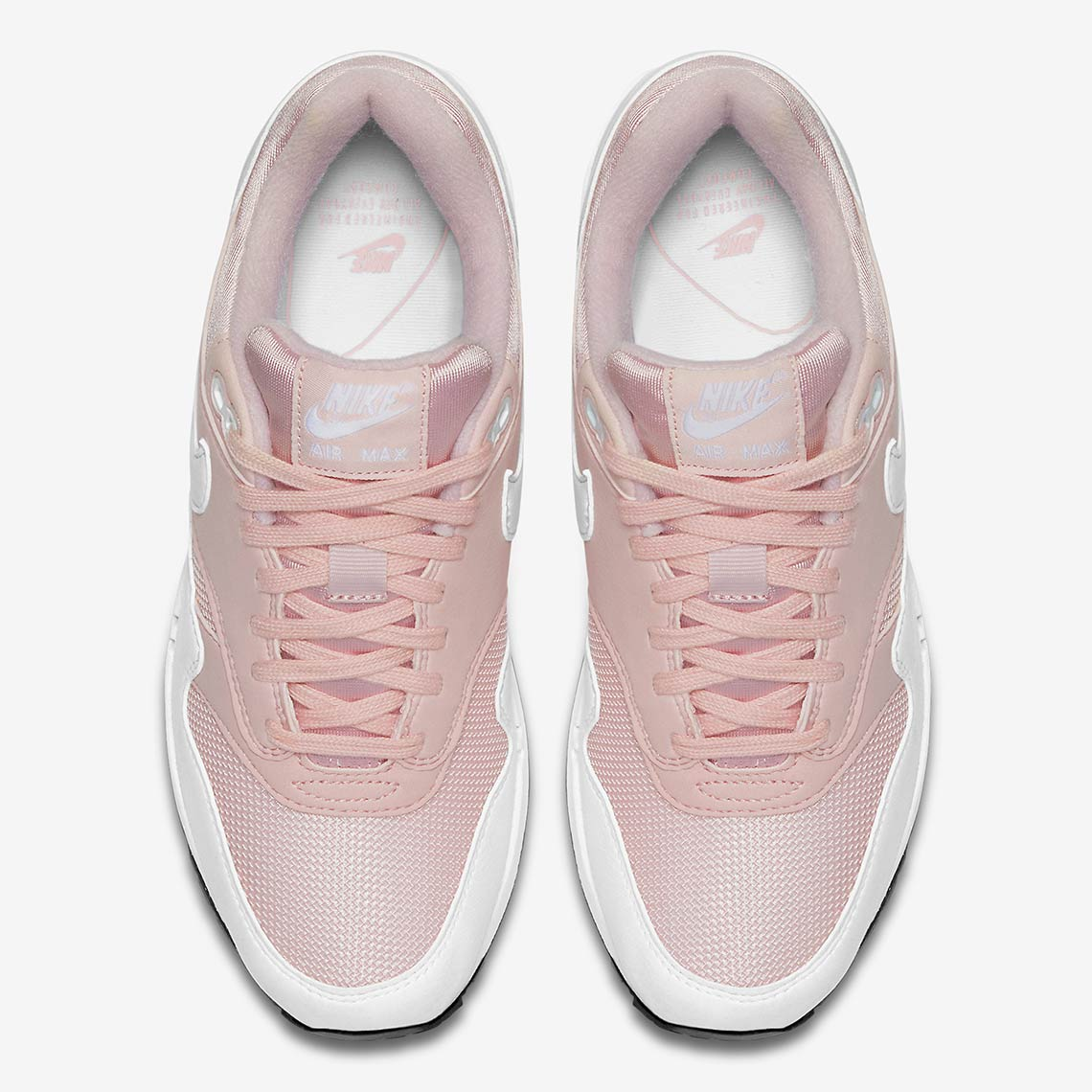 27ccb79f2e9d5 Nike Air Max 1. Release Date: May 2018 $110. Color: Barely Rose/White-Black  Style Code: 319986-607. Advertisement. Advertisement