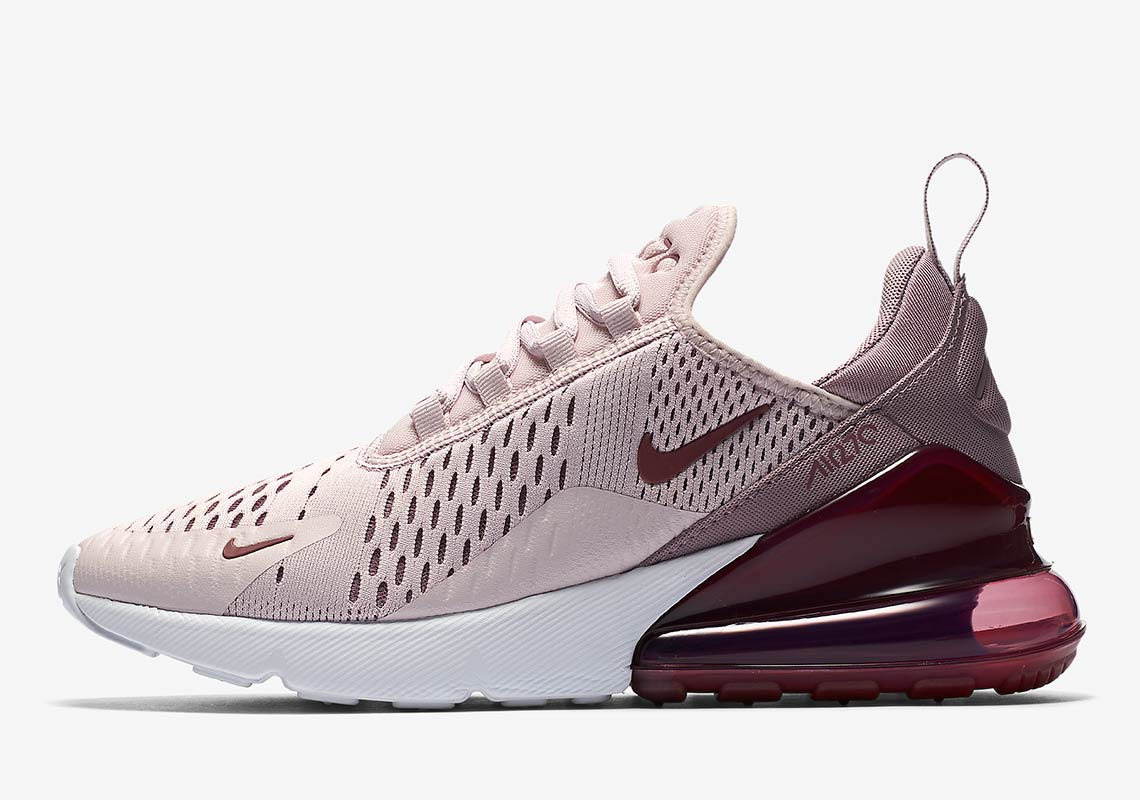 nike air max 270 shoes in rose gold