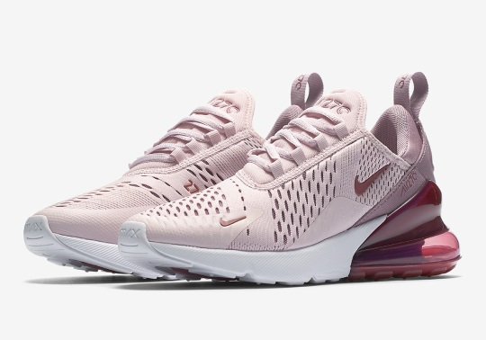 """Nike Air Max 270 """"Barely Rose"""" Releases On May 3rd"""