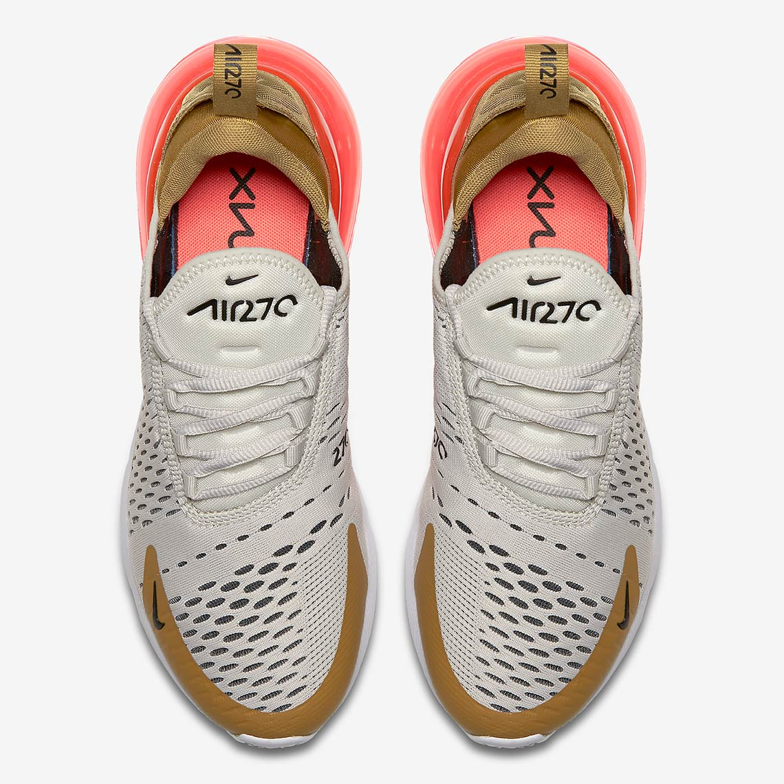 quality design 1376f aed5d Nike Air Max 270. Release Date  May 3, 2018  150. Color  Flight Gold Black-Light  Bone-White-Hot Punch Style Code  AH6789-700. Advertisement. Advertisement