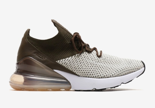 The Air Max 270 Flyknit Arrives In A Coffee Brown Colorway