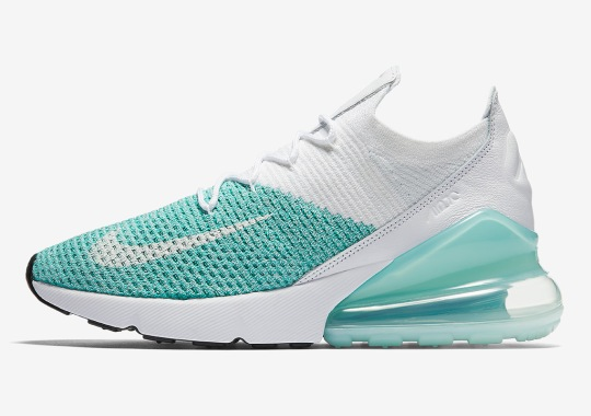"Nike Air Max 270 Flyknit ""Igloo"" Releases Next Week"