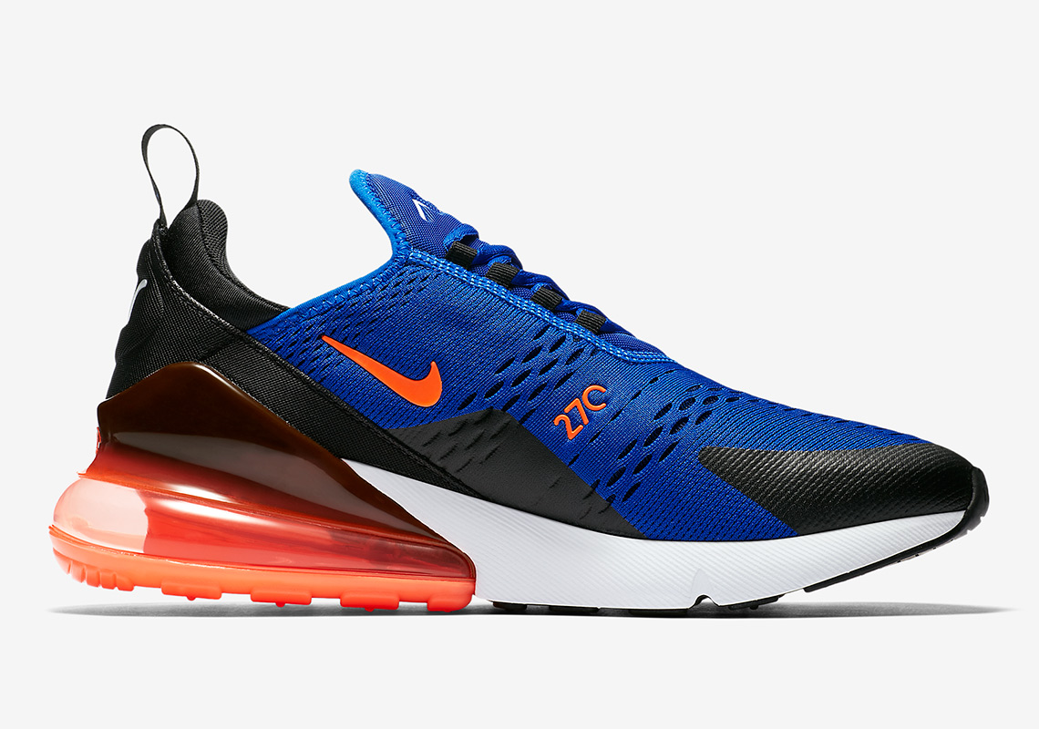 938808cae9 Nike Air Max 270. Release Date: May 3rd, 2018 $150. Color: Racer Blue/Hyper  Crimson-Black-Hyper Crimson-White Style Code: AH8050-401. Advertisement