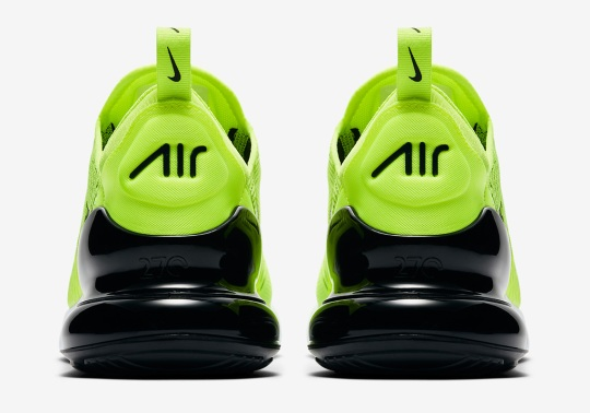 "Nike Air Max 270 ""Volt"" Releases This Thursday"