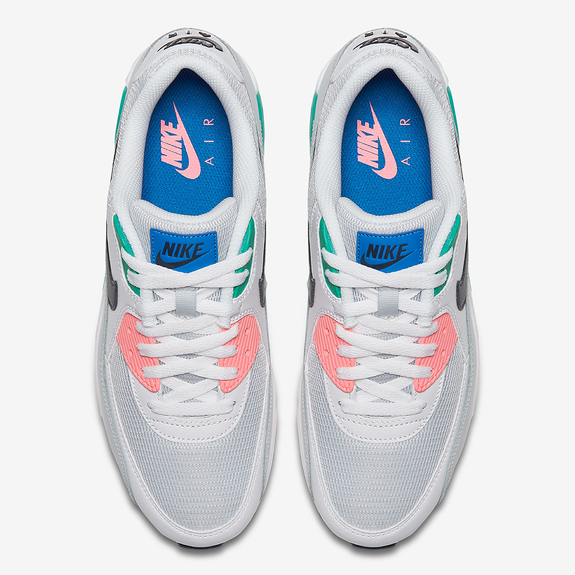 34e0e492d71ea6 ... AJ1285-100 Size  The sale of shoes Nike Air Max 90 Essential Summer Sea  Watermelon South Beach White AJ1285  Best Wholesaler Shop this Article ...