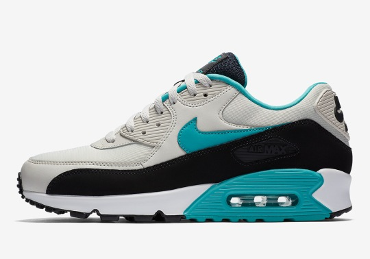 """Nike Air Max 90 Essential """"Sport Turquoise"""" Is Available Now"""