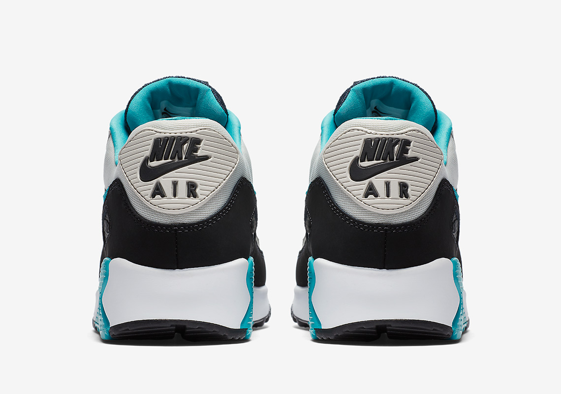 9030d89acbb79 Nike Air Max 90 Essential AVAILABLE AT Nike $110. Color: Light  Bone/Black/White/Sport Turquoise Style Code: AJ1285-001. Advertisement.  Advertisement
