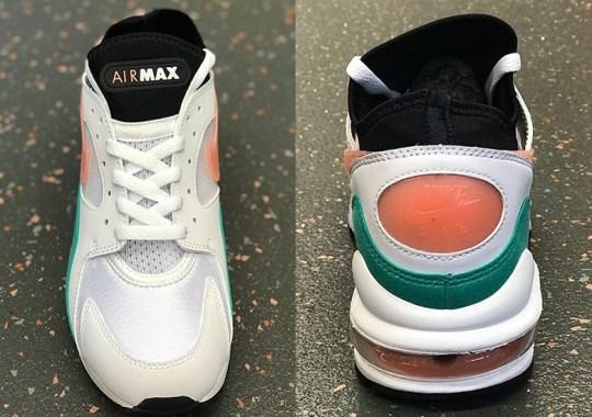 "Nike Air Max 93 Releasing In Seasonal ""Watermelon"" Colorway"