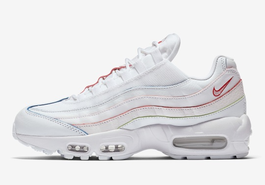 Nike Adds A Subtle Rainbow Effect To This Air Max 95
