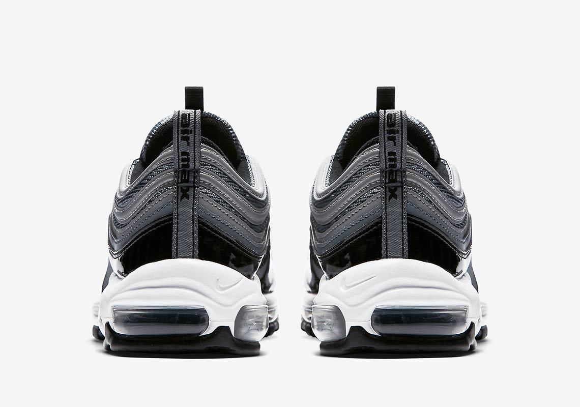 buy popular c2845 483cd Nike Air Max 97 Black Patent First Look 921826-010 ...