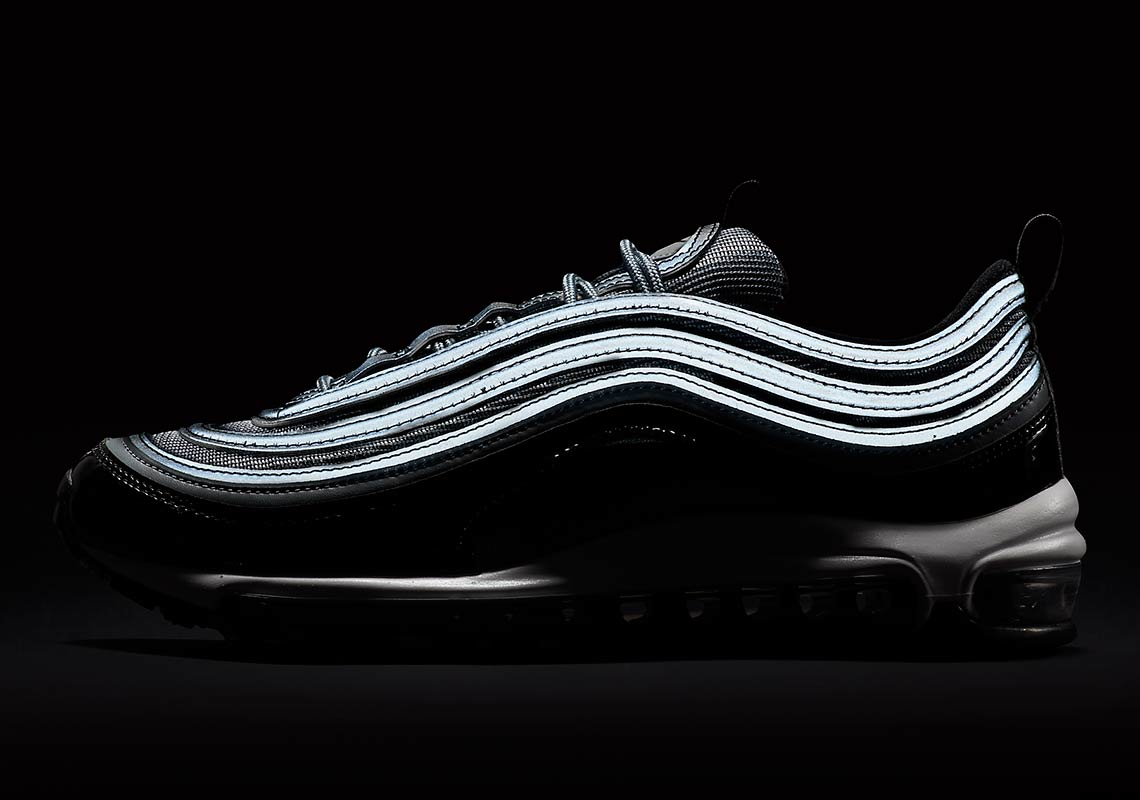 sneakers for cheap 5ee1c 49e7d Nike Air Max 97 Black Patent First Look 921826-010   SneakerNews.com