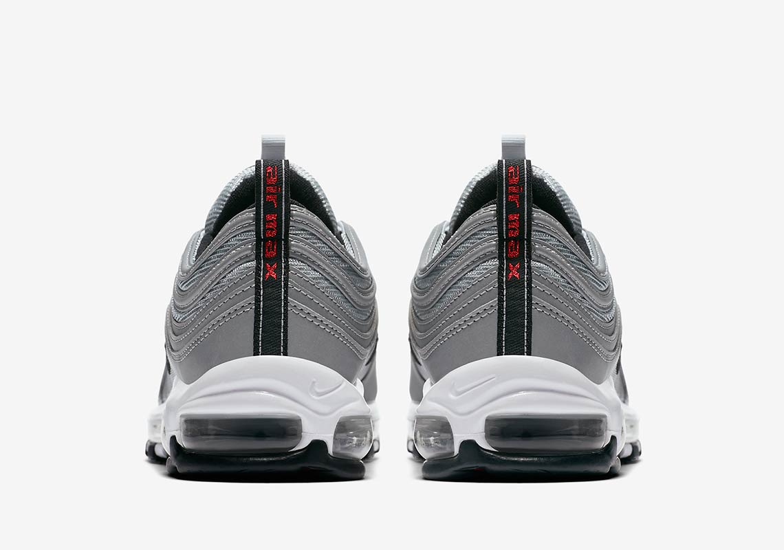 Nike Air Max 97. Available Now on Nike.com  170. Color  Reflect Silver Pure  Platinum-Wolf Grey-Black a74d3b682