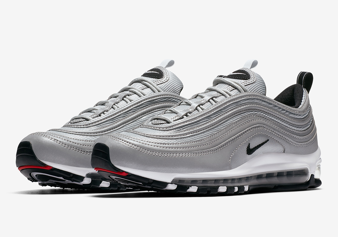 "Nike Gets Shinier With The Air Max 97 ""Reflect Silver"""