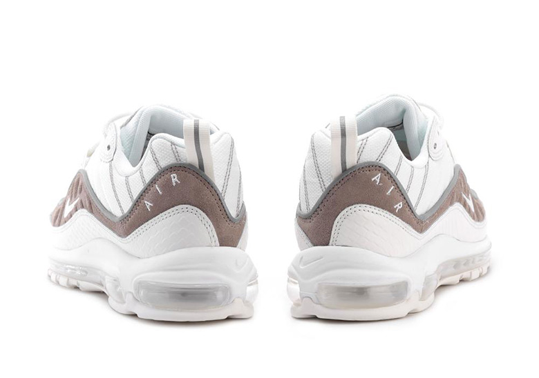 Nike Air Max 98. AVAILABLE AT BSTN €185. Color  Sail Sail-White-Sepia Stone 00dd6f926