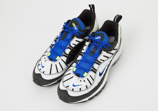 """Nike Air Max 98 """"Racer Blue"""" Set For A May Release"""