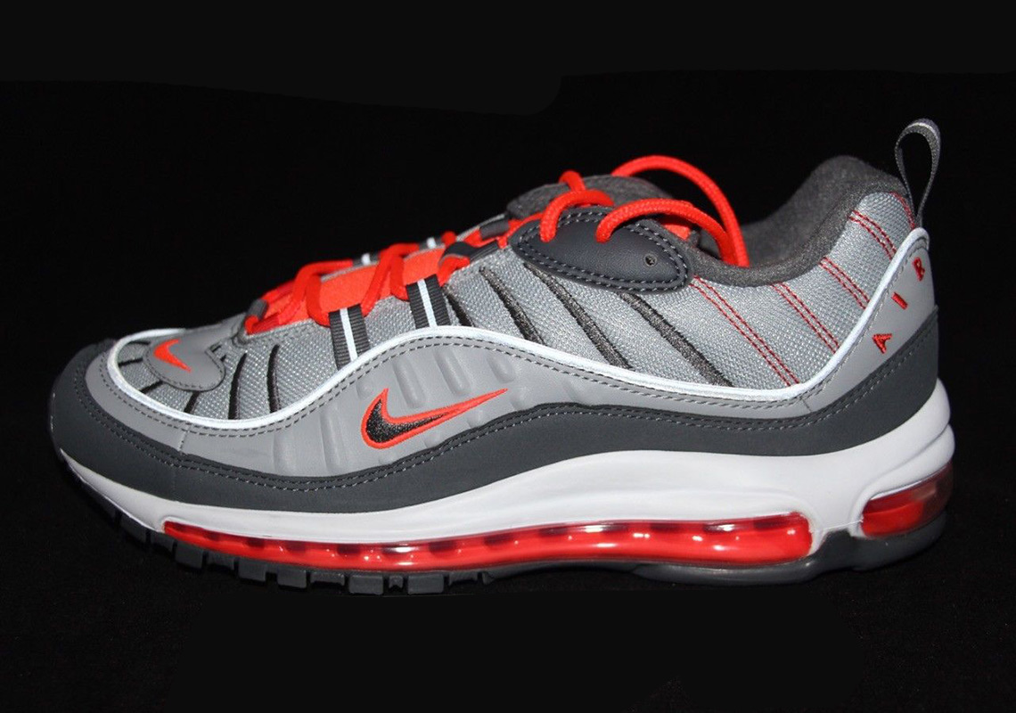 "low cost 642dc 6721c Nike Air Max 98 ""Total Crimson"" Set To Release In Mid-April"