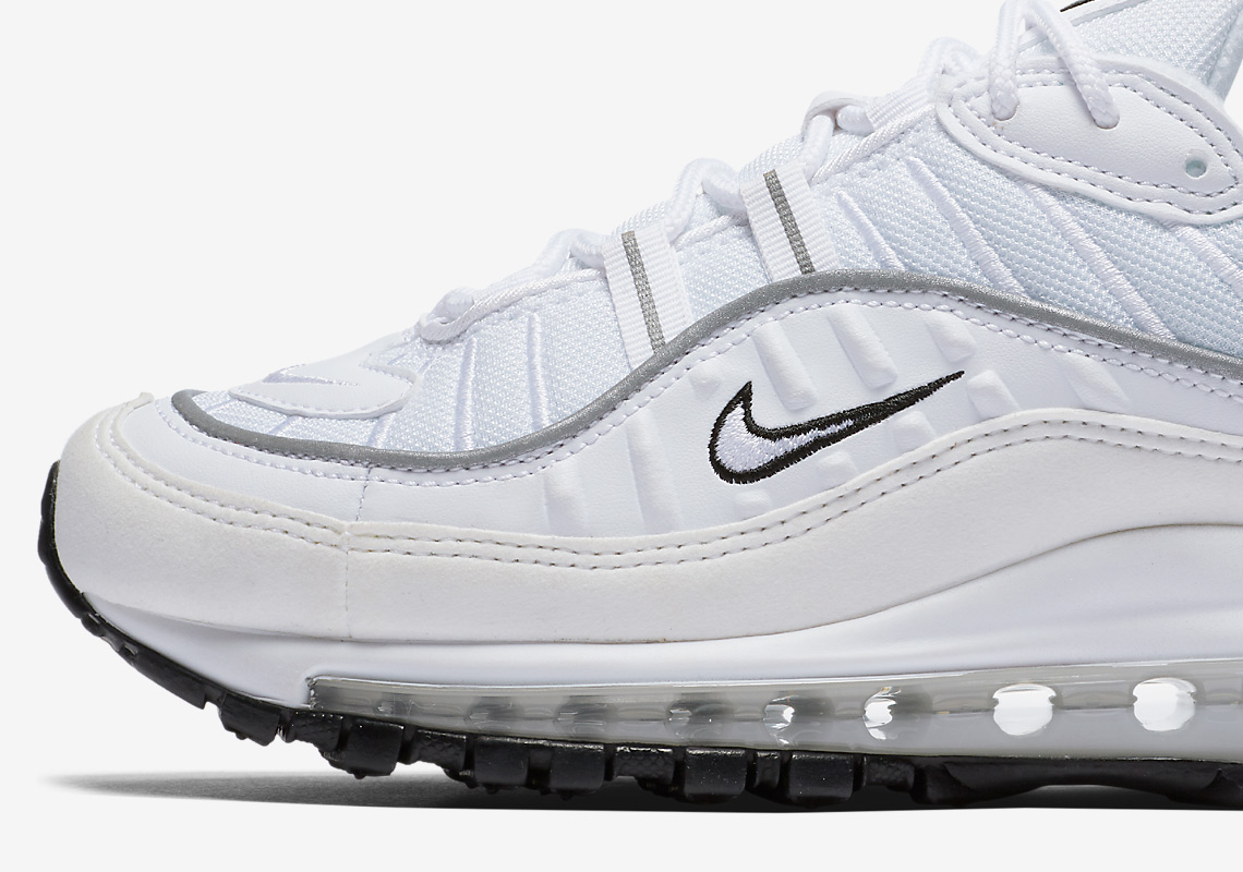 Nike Releases A Women s Exclusive Air Max 98 With Reflective Silver 8c8fe5a7a