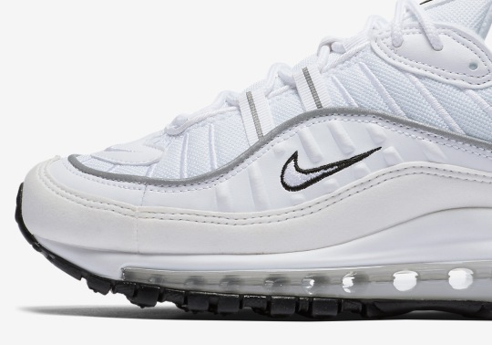 Nike Releases A Women's Exclusive Air Max 98 With Reflective Silver