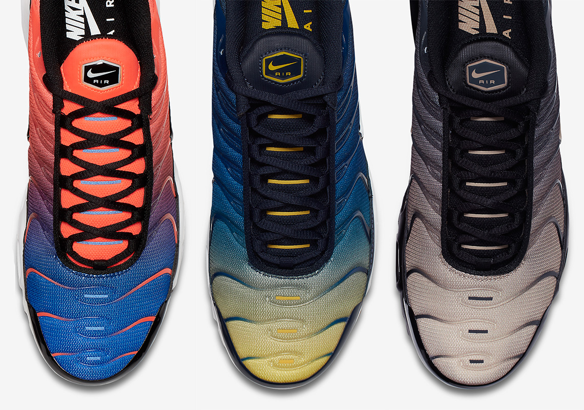 """5504915755 ... Nike Air Max Plus """"Gradient Pack"""" Is Available Now ..."""