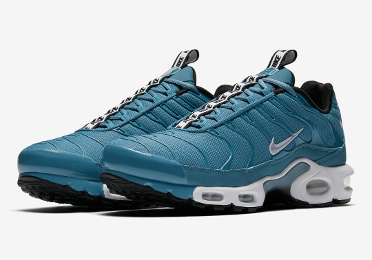 """Another Nike Air Max Plus """"Pull Tab"""" Appears In Turquoise Blue"""