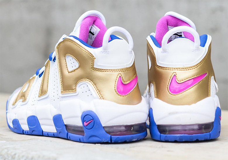 f5926640 Nike Air More Uptempo WMNS Fuchsia Blast Coming Soon | SneakerNews.com