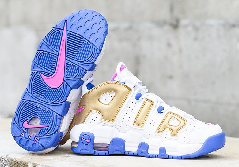 4aff84db9ad Nike Air More Uptempo WMNS Fuchsia Blast Coming Soon | SneakerNews.com