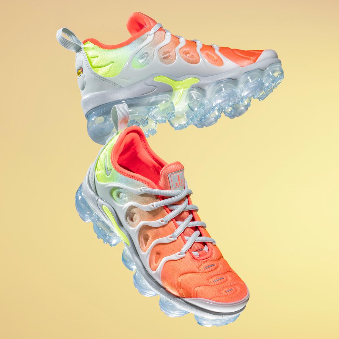 301c2d73ea7 Nike Vapormax Plus Spring Collection 924453-009 AO4550-100 AO4550 ...