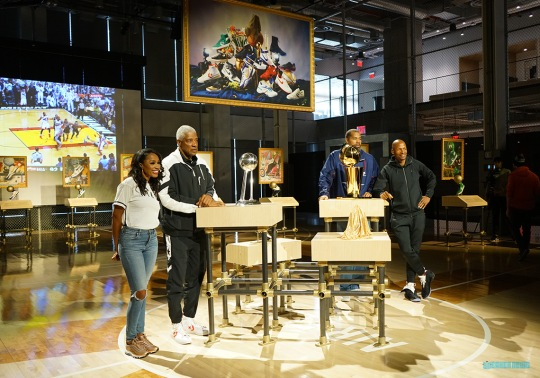 "Nike Presents ""Art Of A Champion"" With Ray Allen, Rasheed Wallace, and Julius Erving"
