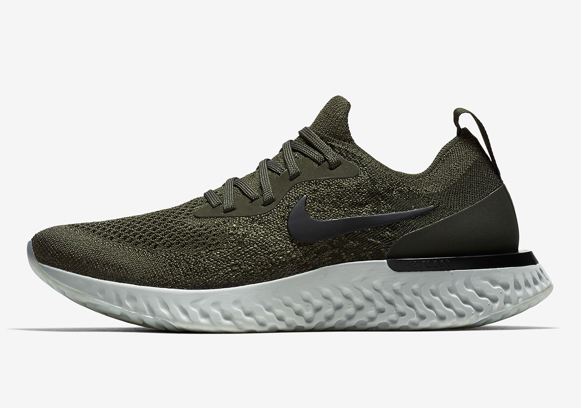 "60a69a9eab1d The Nike Epic React ""Olive"" Releases On April 19th"