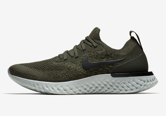 "The Nike Epic React ""Olive"" Releases On April 19th"