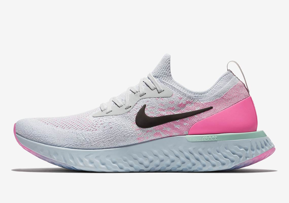 Nike Epic React Women's White/Pink Release Info AQ0067-007 ...