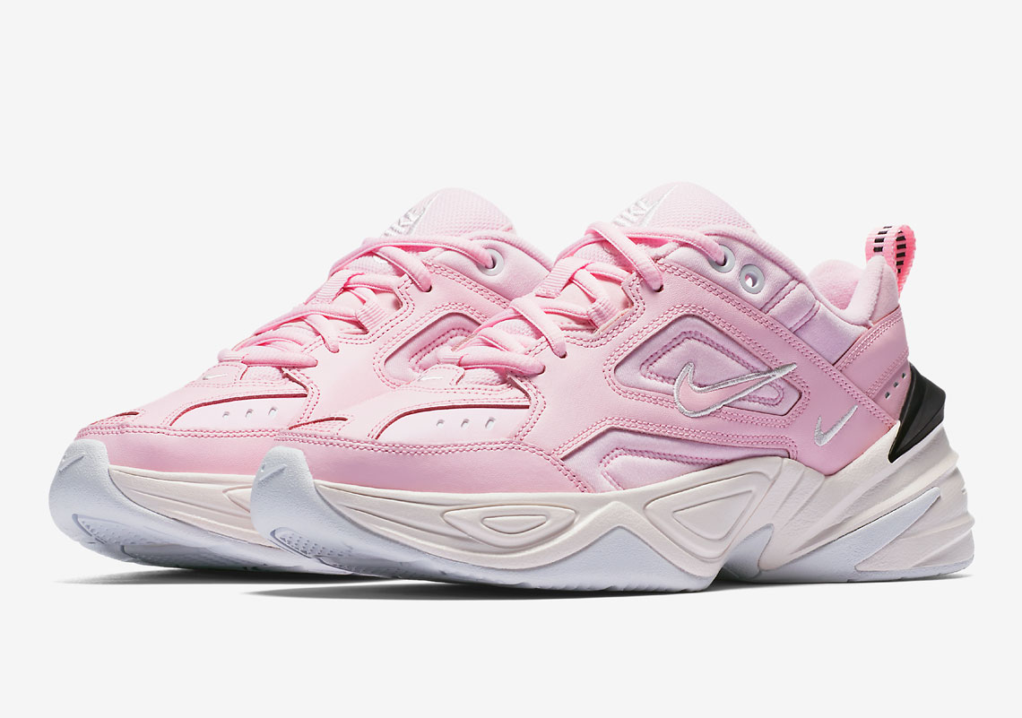 86df6ac61e5b ... netherlands nike m2k tekno release date may 5th 2018 100. color pink  black white c63a3