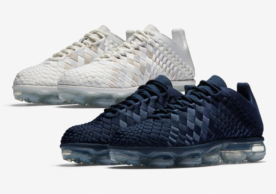A Navy Nike Inneva Woven Vapormax Is Unveiled