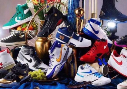 Nike, Jordan, And Converse Commemorate NBA Playoffs With Massive Retro Collection