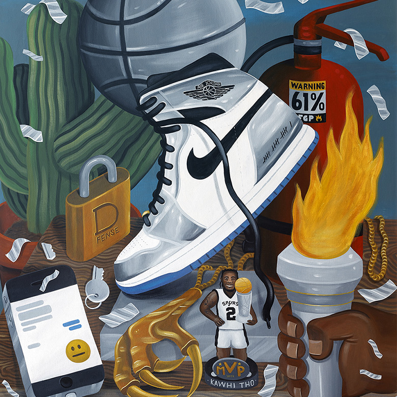af80d53d7b7 Nike + Converse + Jordan Art Of A Champion Collection