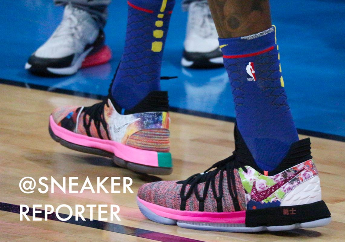"""Nike KD 10 """"What The"""" Release Date  April 4 33e490f7ae"""