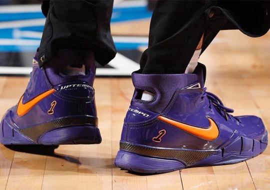 Devin Booker's Nike Zoom Kobe 1 Protro PE Drops Today