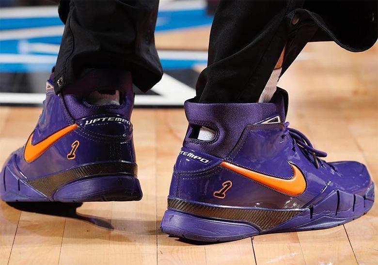 premium selection 35433 68aa4 Devin Booker Nike Zoom Kobe 1 Protro Release Info ...