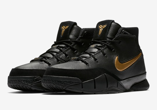 "Nike Zoom Kobe 1 Protro ""Mamba Day"" To Release On April 13th"