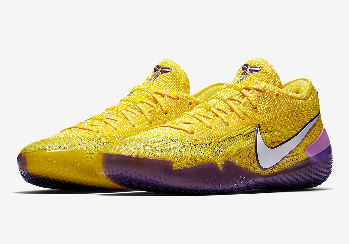 best service 84416 d758a Nike Kobe AD NXT 360 Coming Soon In Lakers Colors