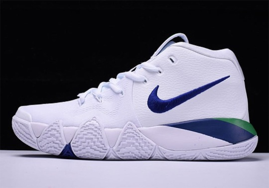 Nike Kyrie 4 Arriving Soon In Classic Seahawks Colors